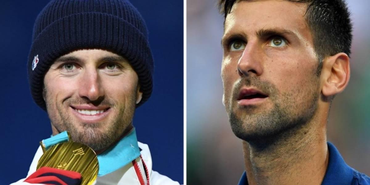 Djokovic invita a Vaultier a hacerse una foto juntos por su parecido físico