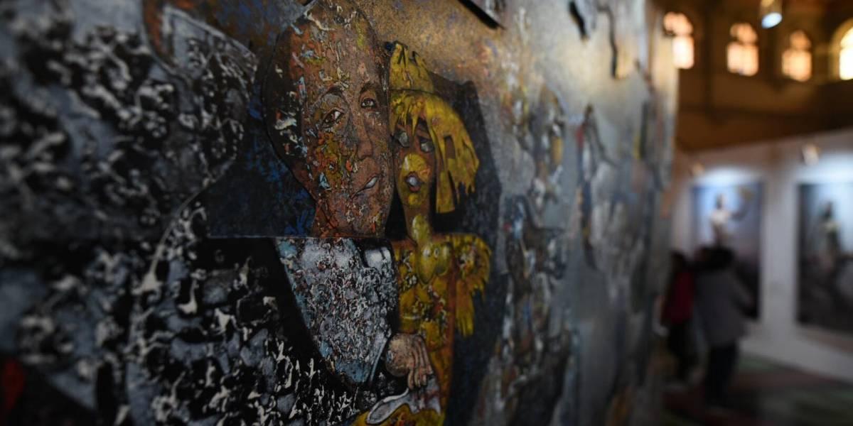 El adiós a un grande, Elmar Rojas, con cuatro de sus obras