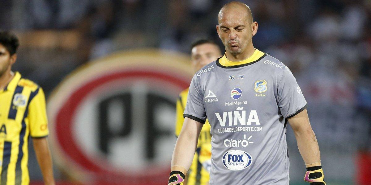 """Eduardo Lobos: """"Mucha gente piensa que me dejo hacer los goles para beneficiar a Colo Colo"""""""
