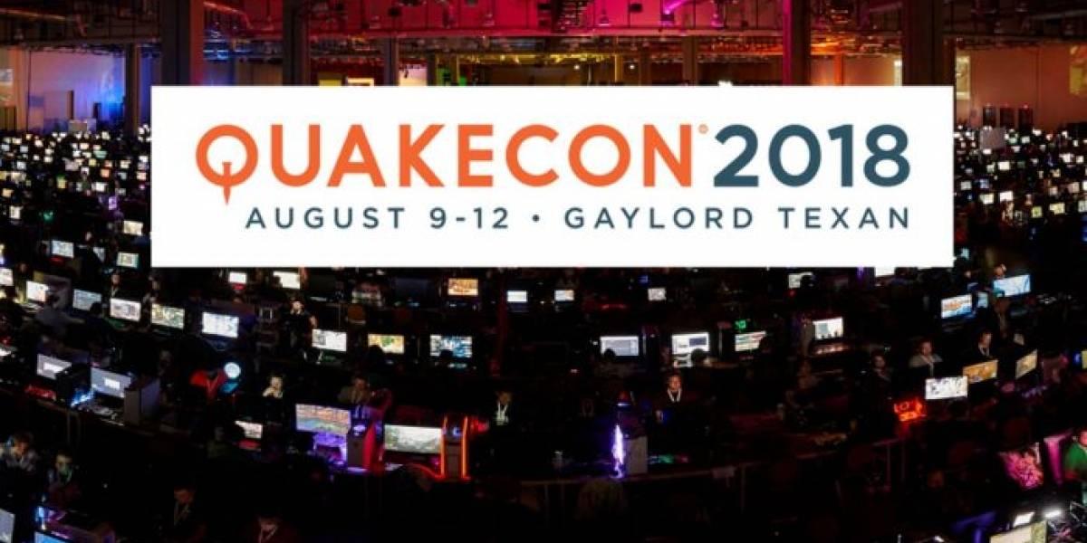 Revelan fecha y primeros detalles de QuakeCon 2018