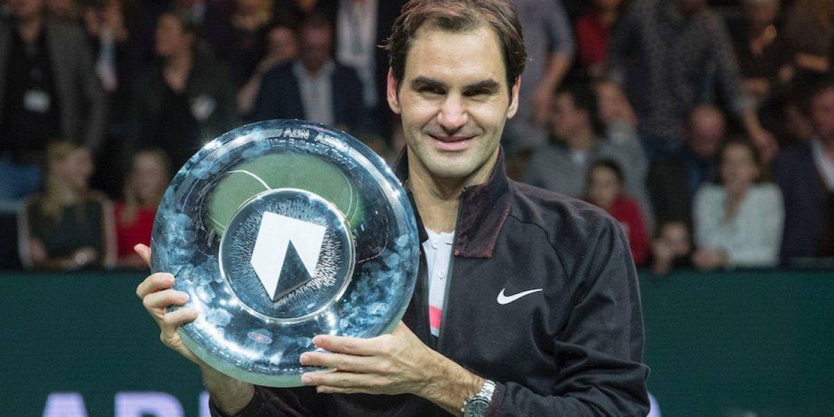 Federer vuelve a la cima del ranking de la ATP