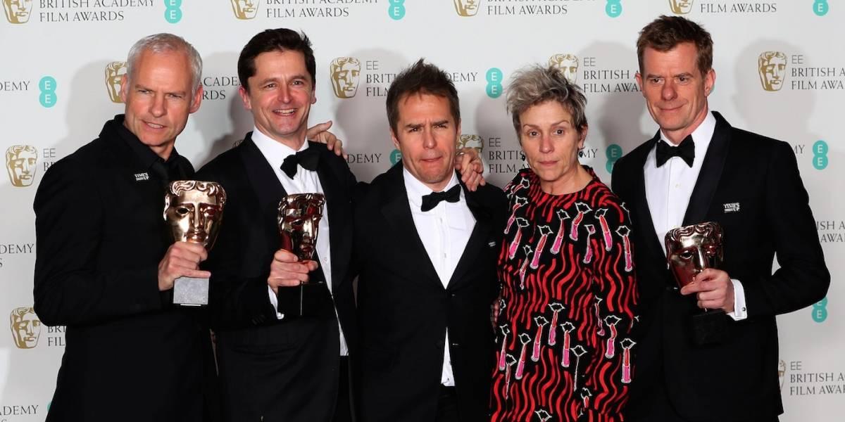 Bafta: Três Anúncios para um Crime é o grande vencedor da premiação britânica
