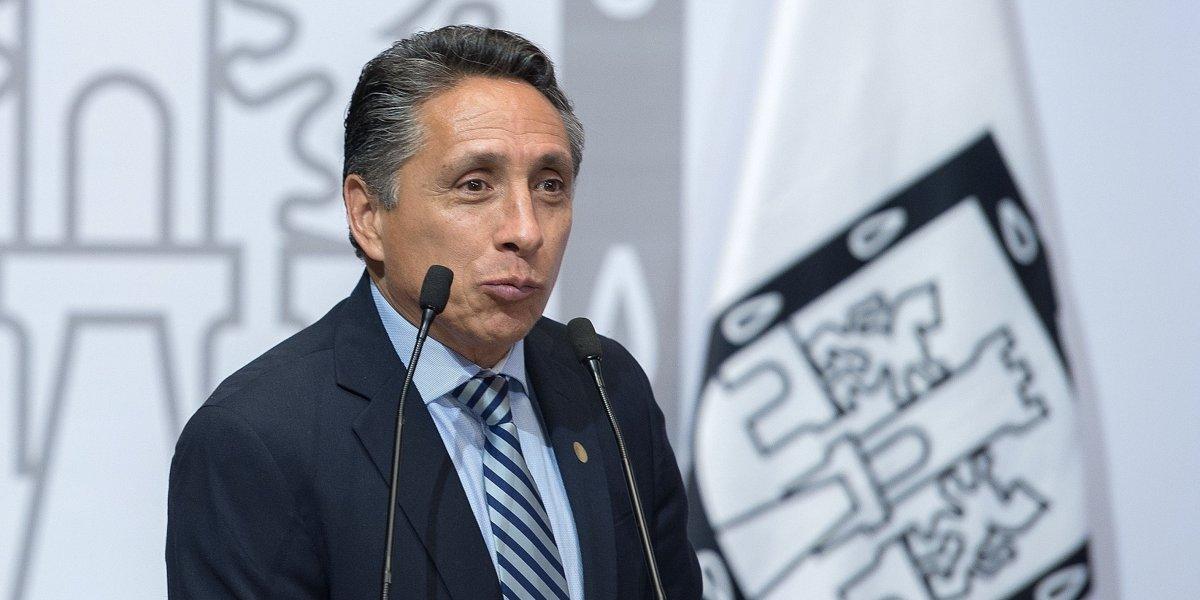 Manuel Negrete, candidato del PRD