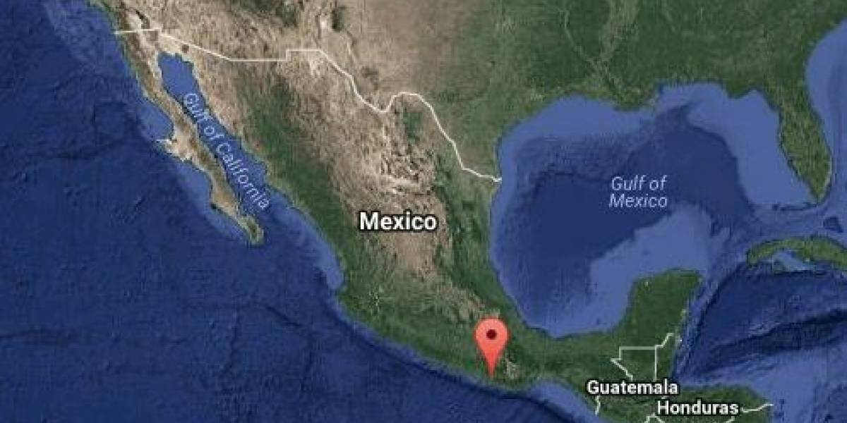 Sismo de magnitud 6 con epicentro en Pinotepa Nacional sacude a CDMX