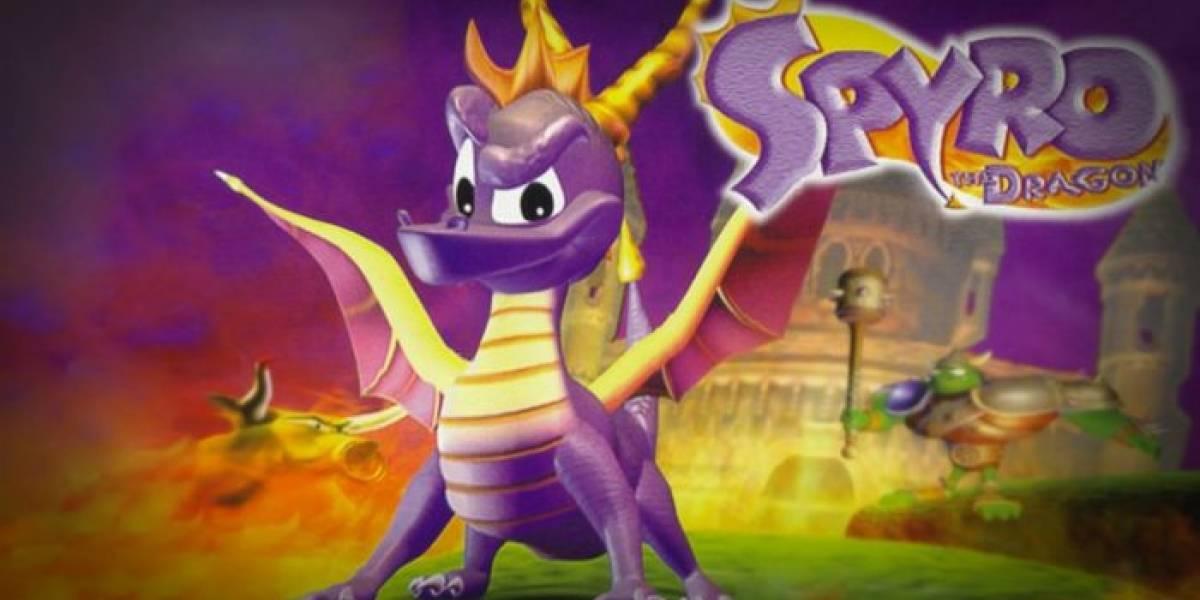 Rumor: La trilogía Spyro the Dragon será remasterizada para PS4