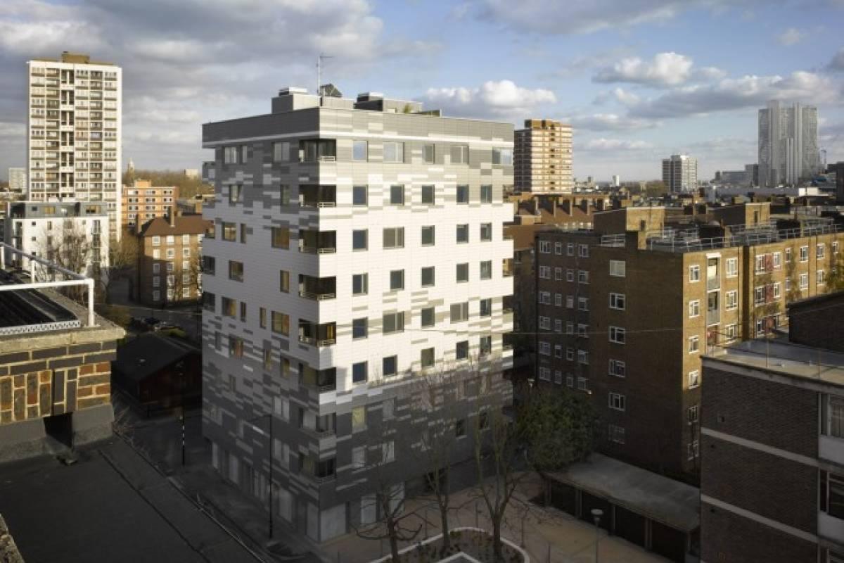 Torre Stadthaus de Londres, un edificio de madera de nueve pisos ...