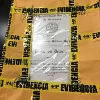 Documentos de Manuel Baldizón