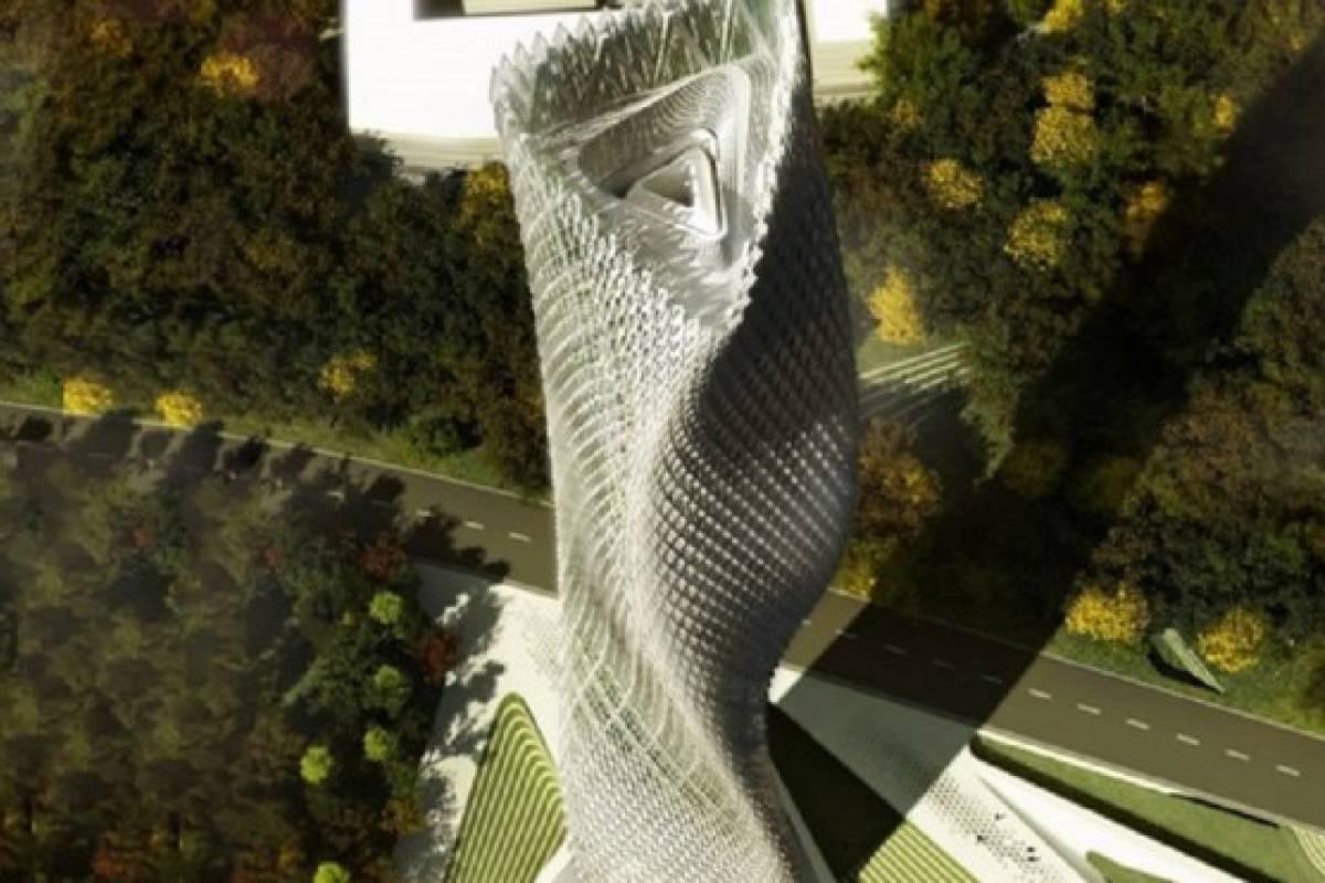 Conoce el edificio que funcionará solo con viento en China