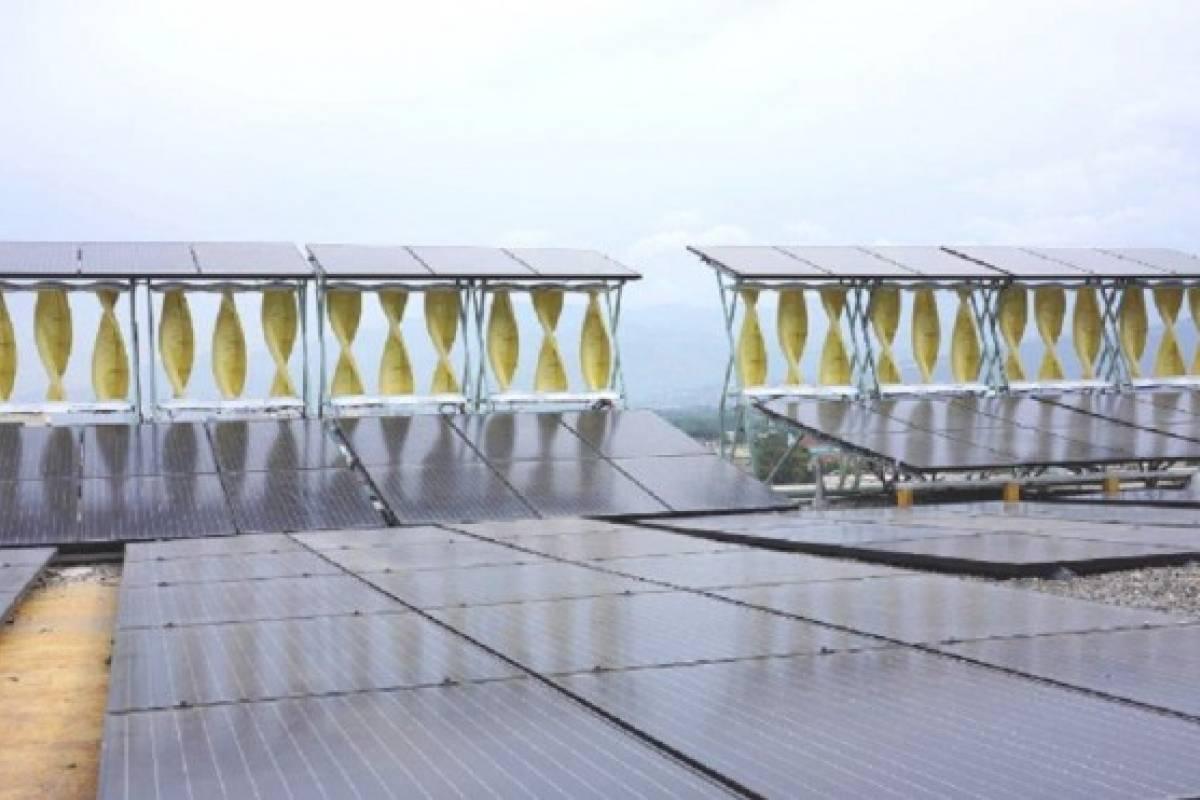 Jamaica revela el sistema híbrido eólico solar más grande del planeta