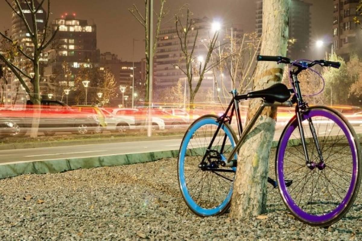 Chilenos inventan bicicleta imposible de robar