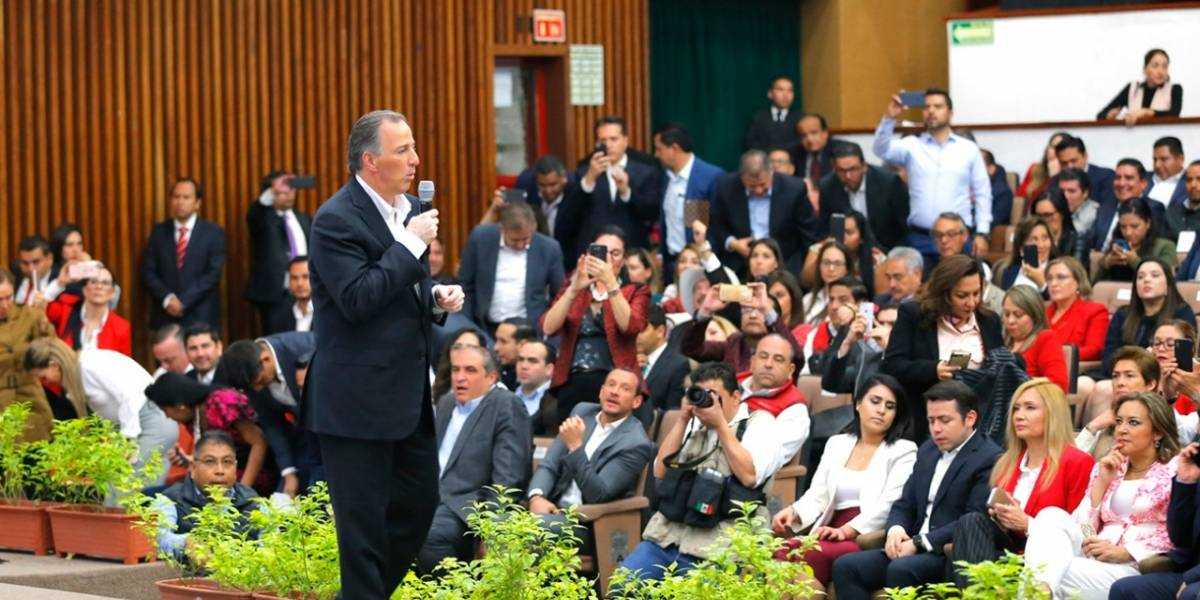 Seré implacable en el combate a la corrupción:  Meade
