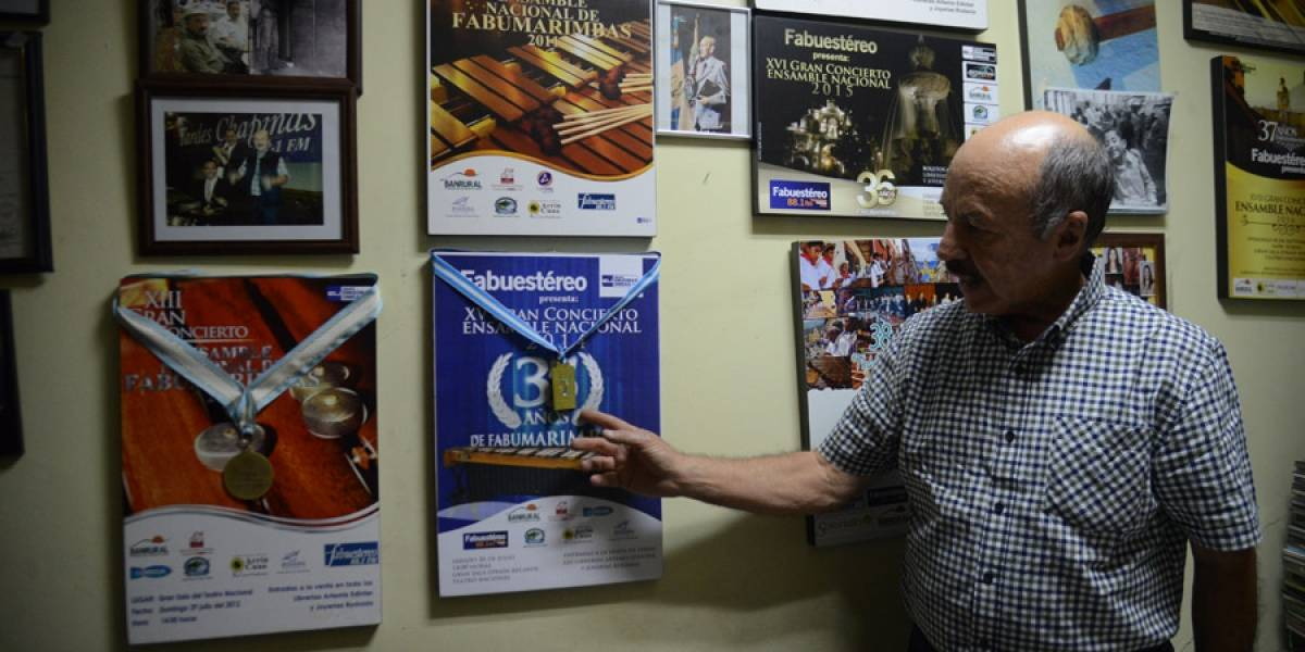Ángel Mario Figueroa, una vida dedicada a mantener a la marimba en primer plano