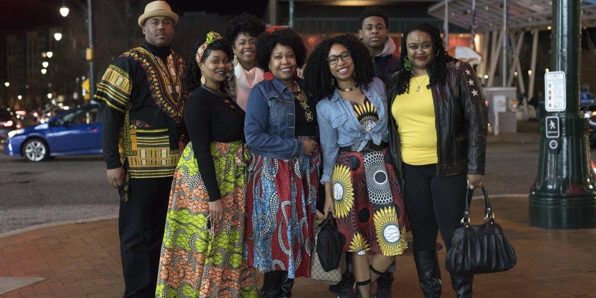 """Moda africana despierta con """"Black Panther"""""""