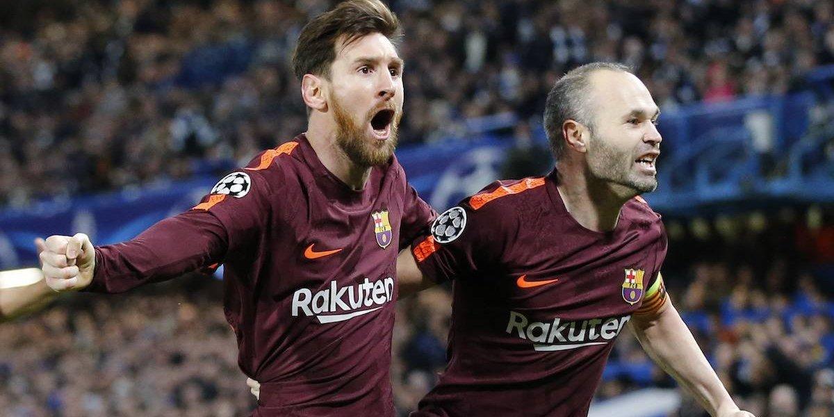 VIDEO: Messi al fin le anota al Chelsea y rescata al Barcelona en la Champions