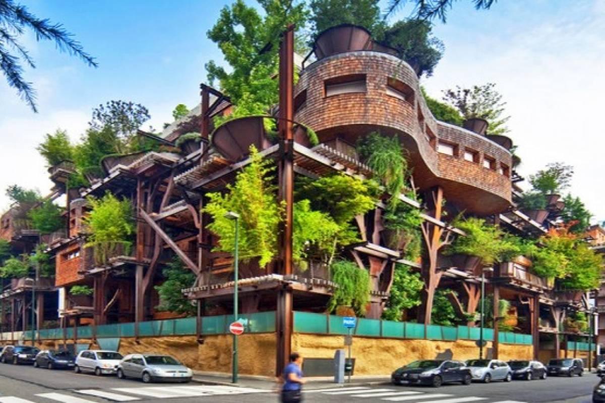 Casas de árbol urbanas combaten la contaminación en Turin - VeoVerde ...