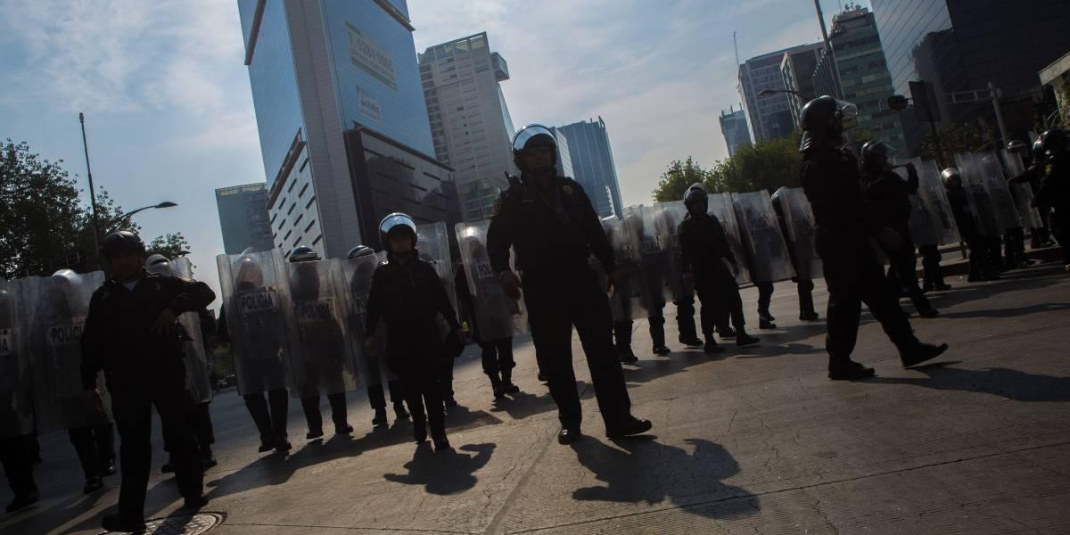 Manifestantes y partido de futbol complicarán tránsito en la CDMX