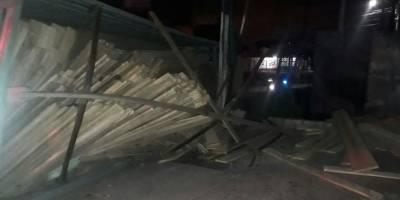 accidente de camión en Villa Nueva