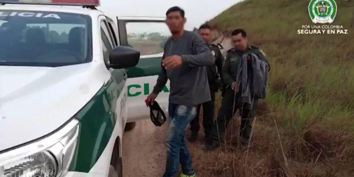Capturan al hombre acusado de raptar a una bebé en Chía