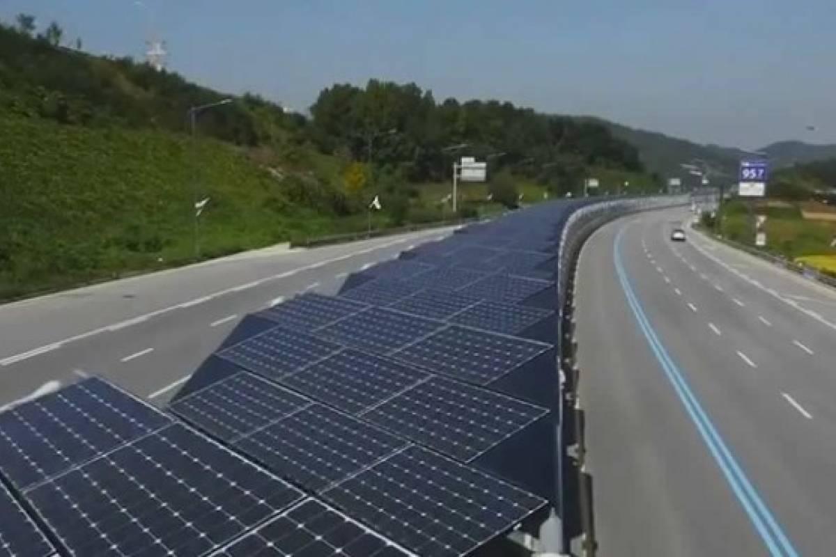 Francia pavimentará 1000 kilómetros de carretera con paneles solares