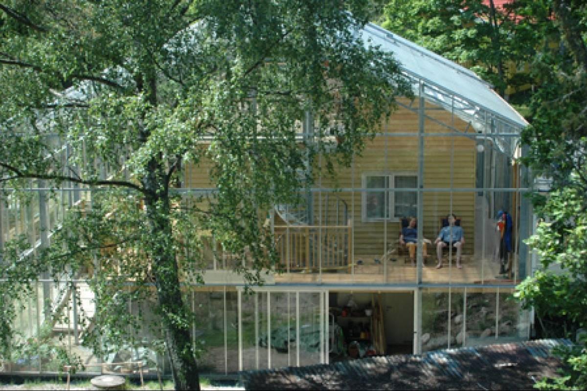 Arquitectura ecol gica la casa invernadero veoverde nueva mujer - Invernaderos para casa ...