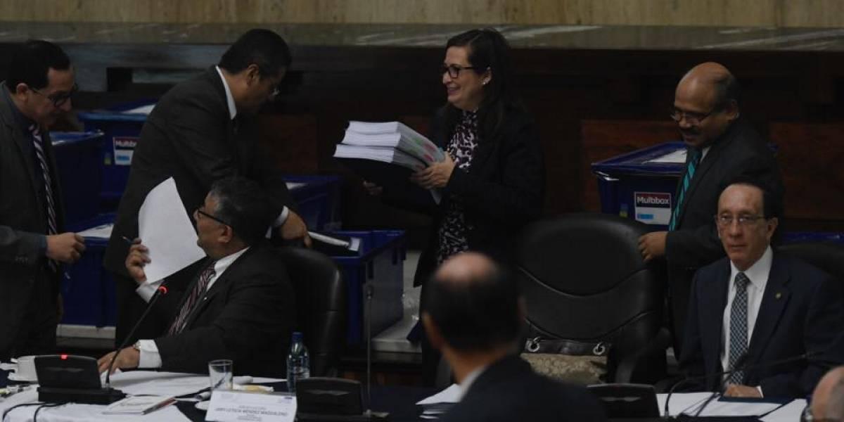Descartan a la magistrada Delia Dávila y a un exfiscal