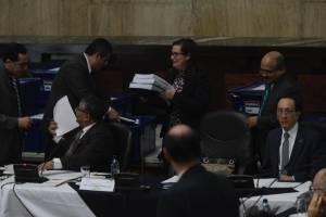 comisión de postulación a Fiscal General revisa expedientes