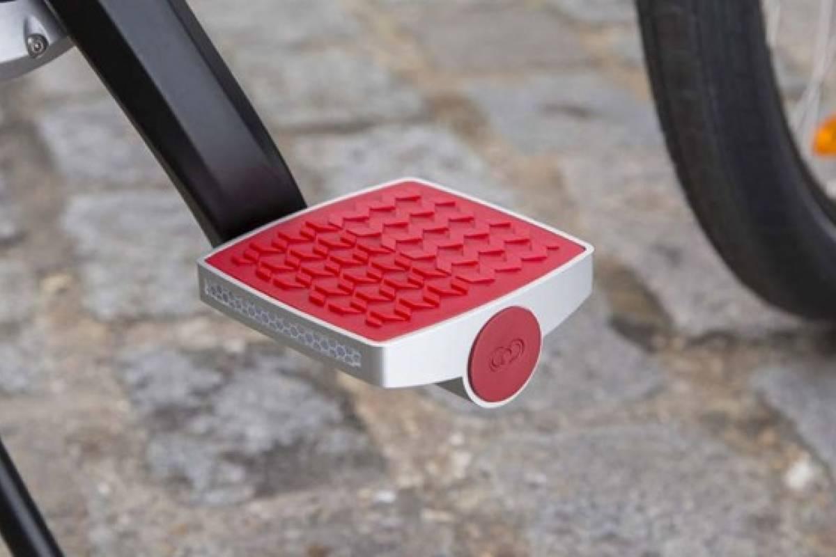 Pedales con tecnología que indica si tu bicicleta está siendo robada