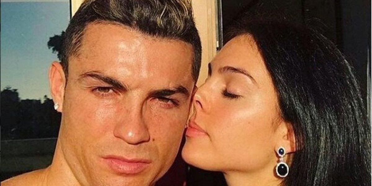 Cristiano Ronaldo se pone romántico con Georgina Rodríguez ¿en el aire?