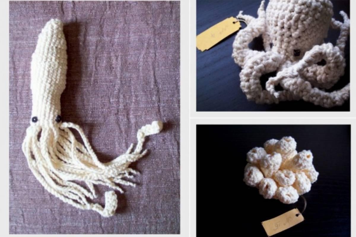 Mira las lindas especies marinas que se pueden crear a crochet ...