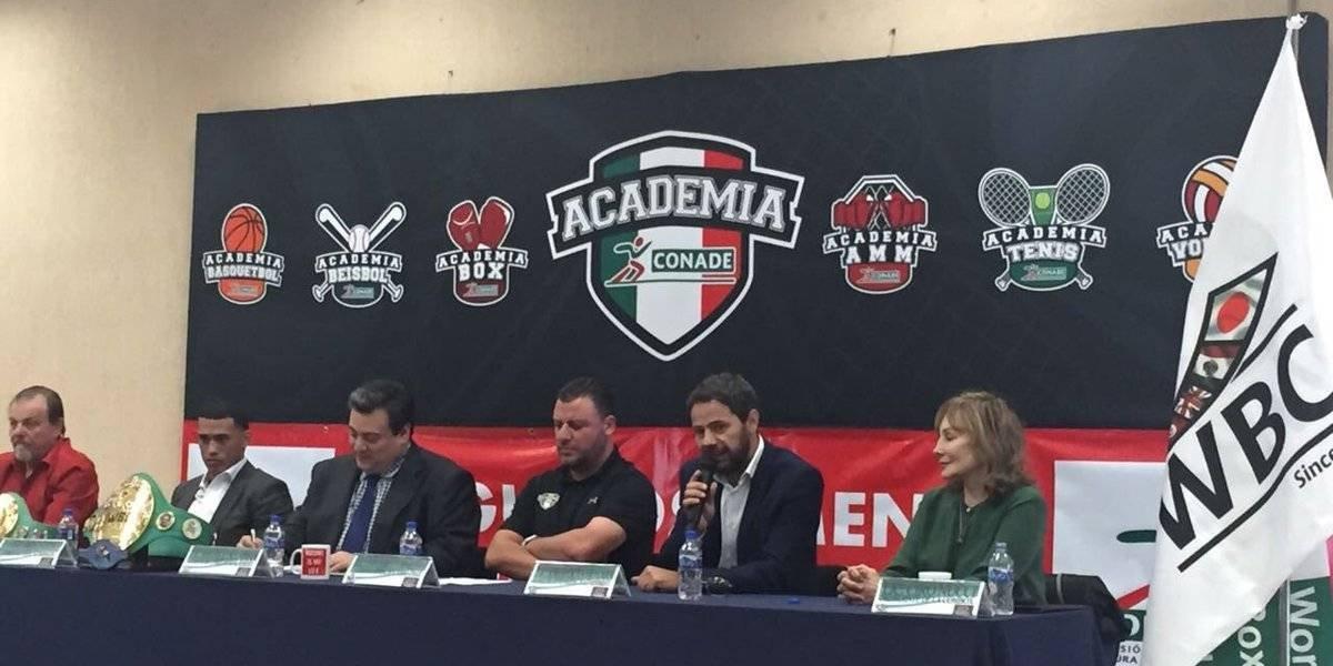 Conade y CMB presentan primera Academia de boxeo