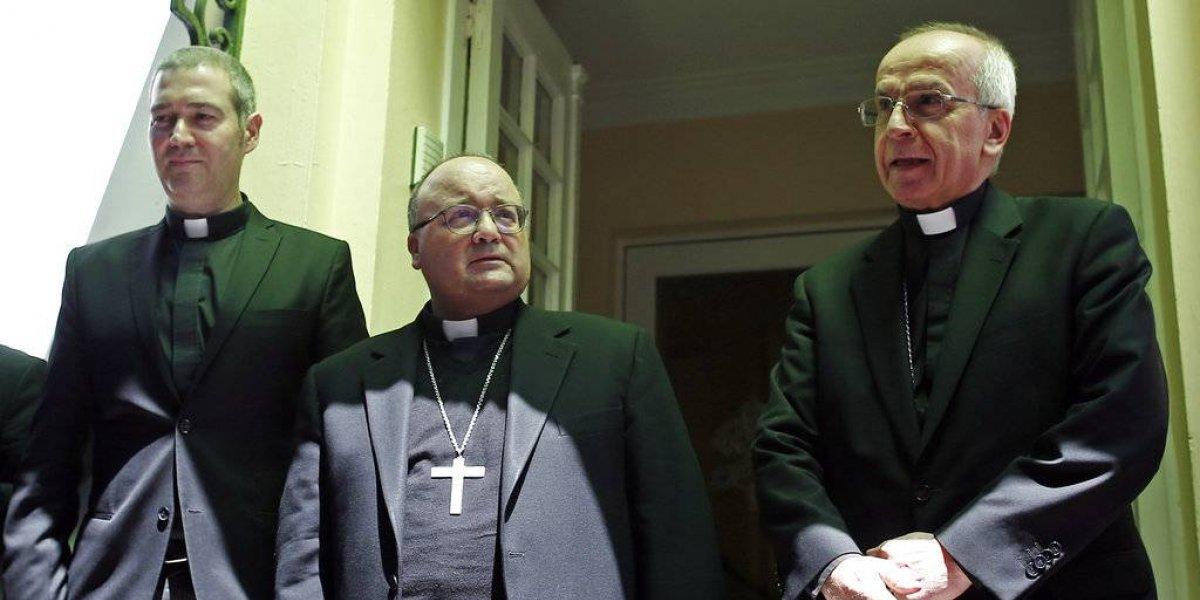 """Enviados del Vaticano en Chile: """"Hemos venido a pedir perdón"""""""