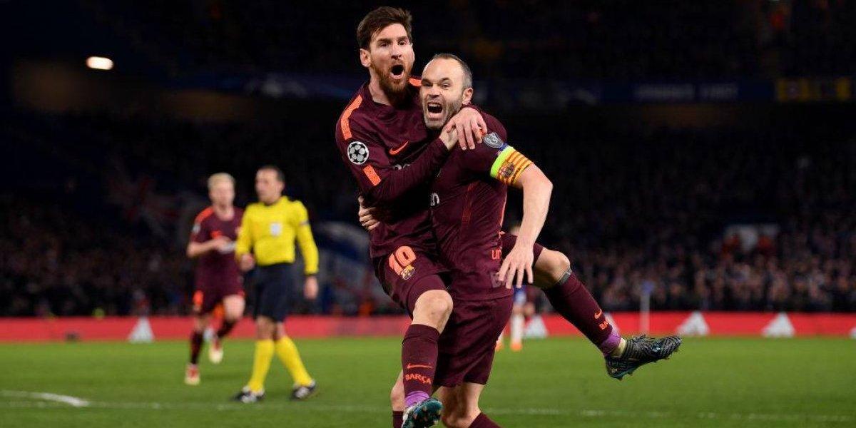 Lionel Messi eligió el mejor momento para romper su maldición ante Chelsea