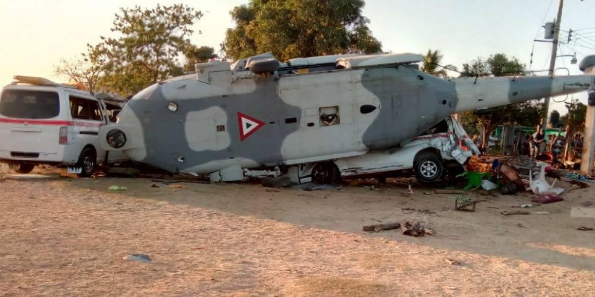 Senadores piden renuncia de Navarrete Prida por desplome de helicóptero