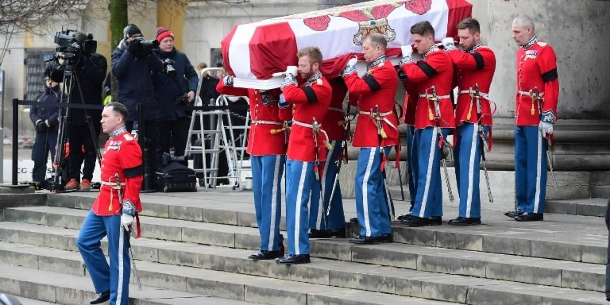 FOTOS. Íntimo funeral del príncipe Enrique de Dinamarca
