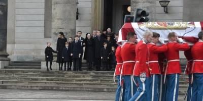 Funeral del príncipe Enrique de Dinamarca