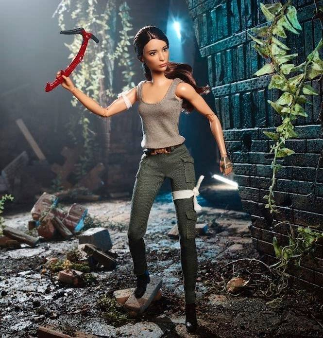 Barbie-Lara-Croft