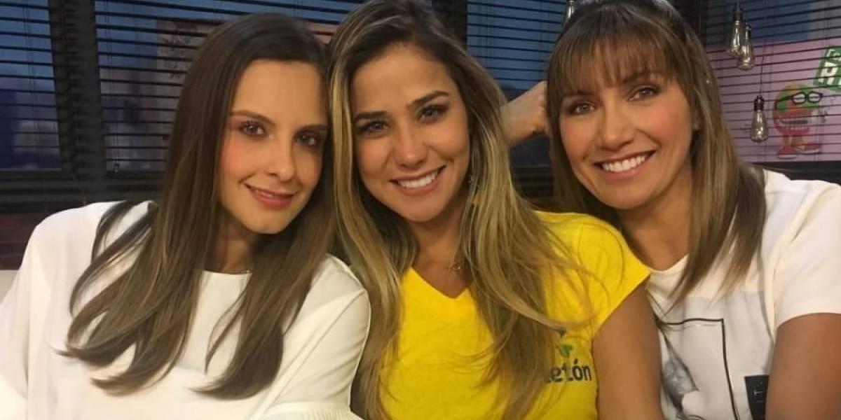 RCN, víctimas de burlas por embarazo de Zahira Benavides