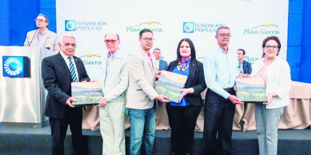 """Fundación Popular presentó el libro """"La Sierra"""" a la comunidad serrana"""