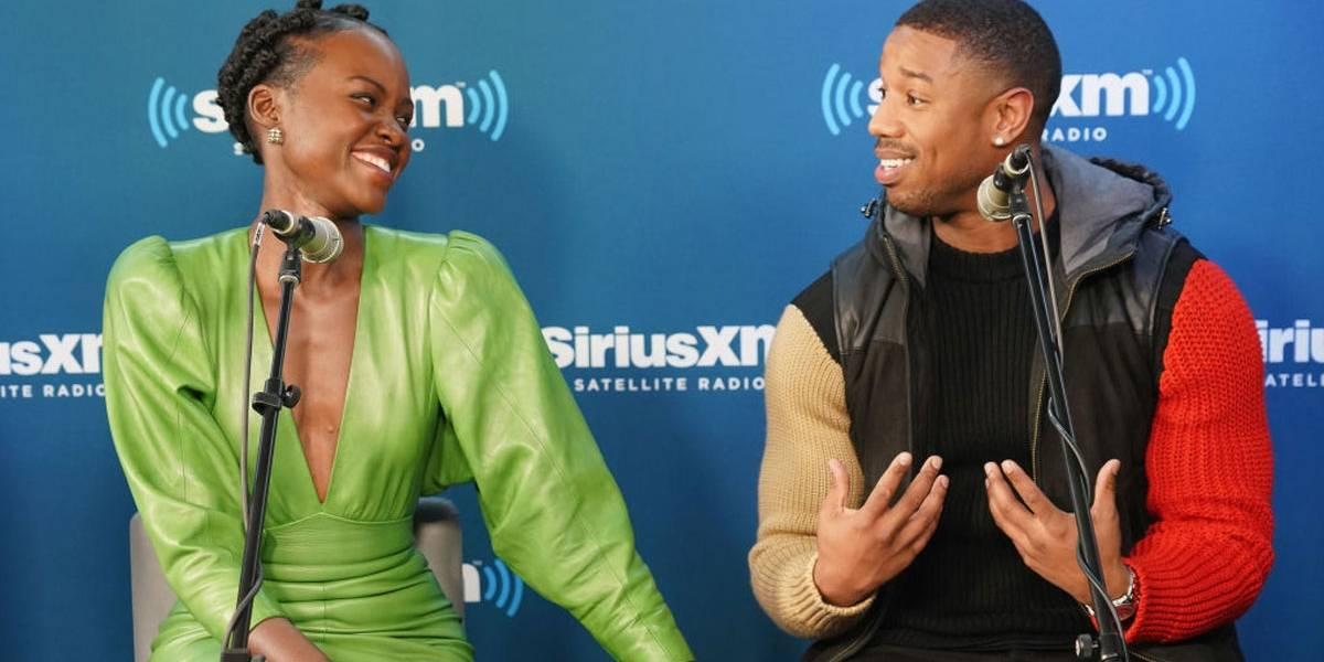 Pantera Negra: Michael B. Jordan não aconselha fazer apostas com Lupita Nyong'o, entenda