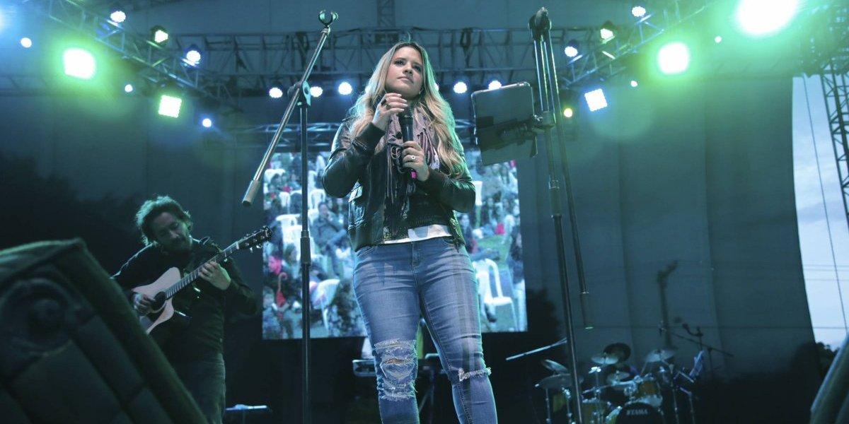 Nathalie Hazim con buena acogida en Colombia