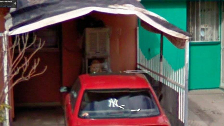 "Niña ""fantasma"" captada en Google Maps"