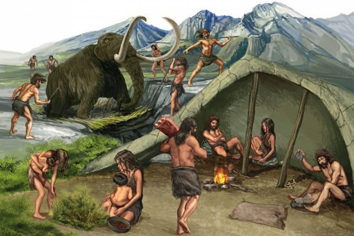 Resultado de imagen de La edad de piedra y los humanos