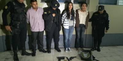 pandilleros detenidos en zona 7 de Mixco