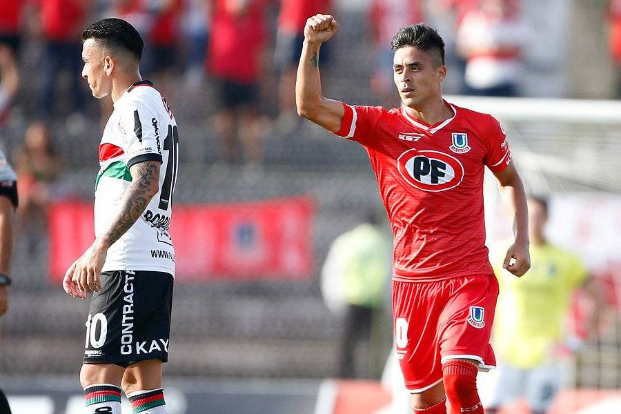 Brian Fernández lleva 4 goles tras 3 fechas disputadas con Unión La Calera / Foto: Photosport