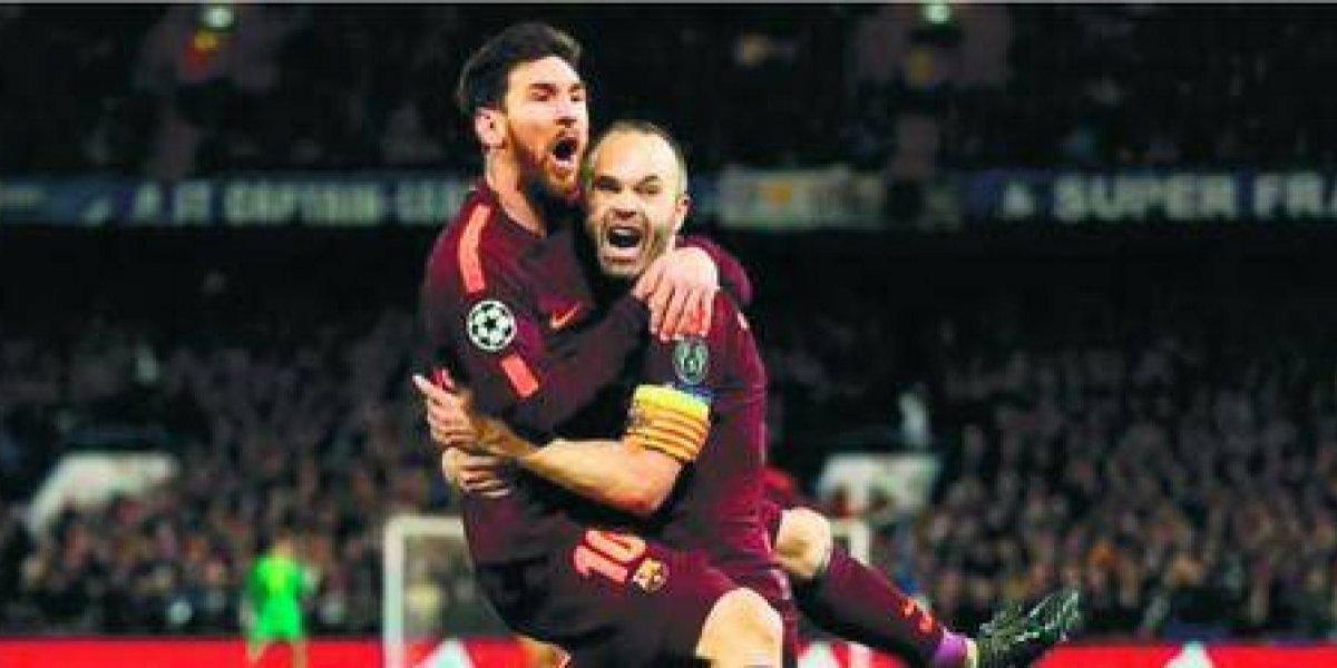 Champions League: Lionel Messi salvó un empate ante el Chelsea