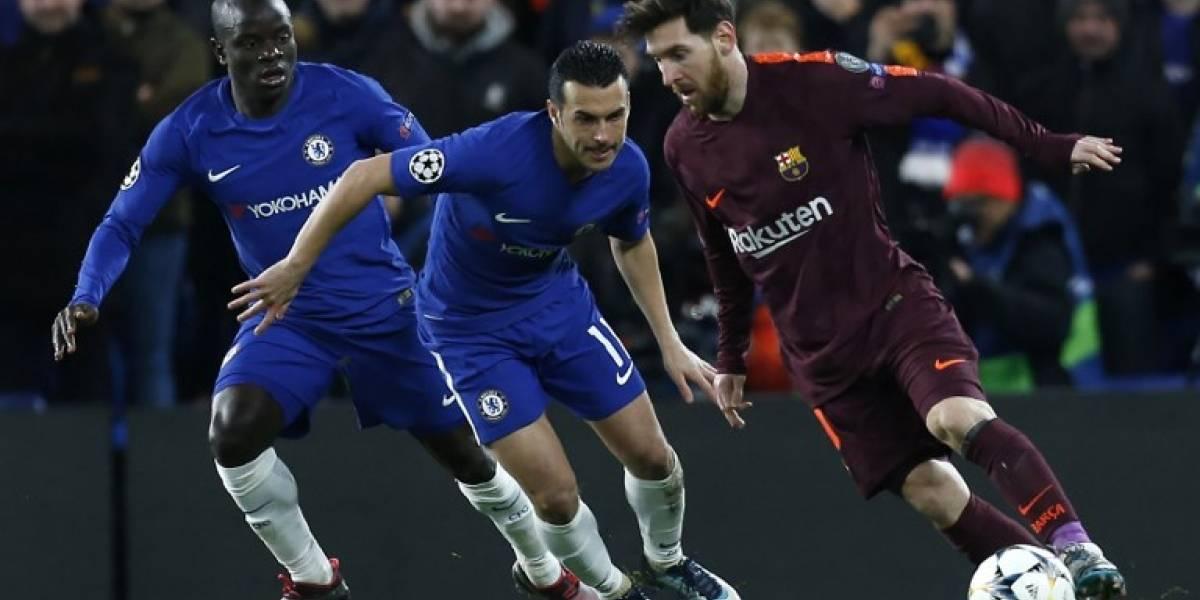 El Barça sufre pero rescata unimportante empatedeLondres