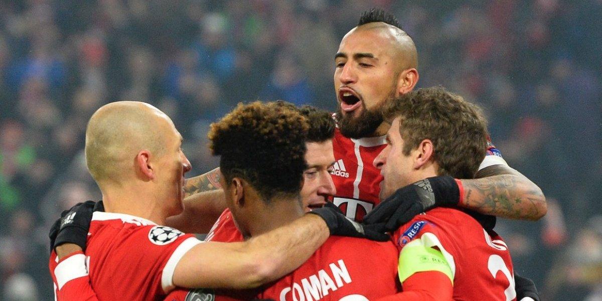 El Bayern de Múnich toma gran ventaja en su camino a los cuartos de final