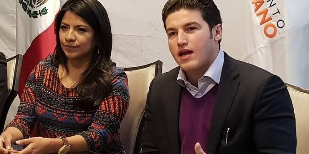 MC avala a Samuel García e Indira Kempis para el Senado