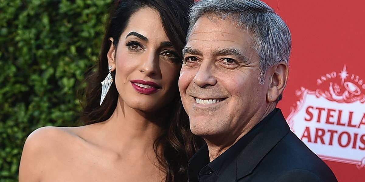 George Clooney y su esposa donan $500 mil para marchas en contra de armas