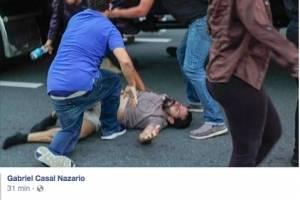 En las redes sociales compartieron esta foto y denunciaron el suceso. (Facebook)